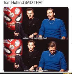 memes 1 comment — iFunny Tom Holland SAID THAT – popular memes on the site Tom Holland SAID THAT – popular memes on the site Avengers Humor, Marvel Jokes, Funny Marvel Memes, Dc Memes, Meme Comics, Marvel Dc Comics, Marvel Avengers, Avengers With Spiderman, Loki Meme