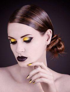 The color splash effect! Model: Flavia Ciplea;  Make-up: Andreea Leonte;  Hair: Todoran Ioana Maria - Boulevard Studio; Nail Art: Cioplea Rodica - Boulevard Studio;  Photo: Laura Mureşan, Alexandra Voicu.