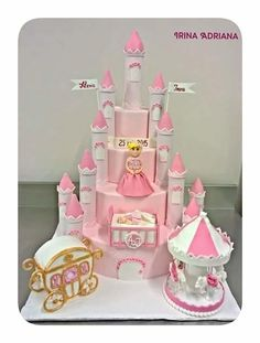 Castle Cake - Cake by Irina-Adriana