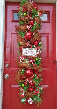 Guirnalda de la Navidad colgante de la por SparetimeSpecialties