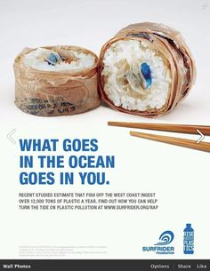 brilliant ad about water pollution and impact on the fish we eat.
