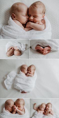 Séance photo nouveau-né posing avec des jumeaux mixtes, à Paris - Carole J. Photographie