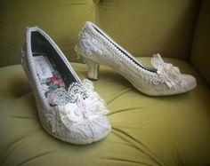 Rococo shoes   Etsy