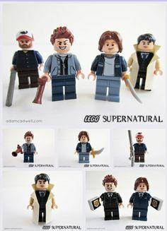 Supernatural Legos!!