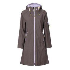 Fab.com   Contrast Raincoat Long Lavender