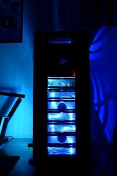 Blue light my pc emits in darkness