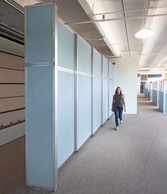 This extra large room divider is available in heights up to 120