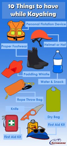 10 things to have for Kayaking