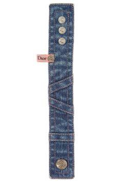 Dior denim bracelet (picture only)