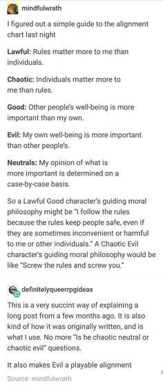Alignment chart dnd evil playable dungeons and dragons Writing Promps, Book Writing Tips, Writing Characters, Writing Help, Creative Writing, Writing Ideas, Tumblr Writing, Writer Tips, The More You Know