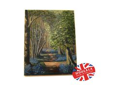 Beautiful Oil Painting Picture Canvas of a Blue Bell by hoolala, $105.85