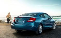 Re-pin if you'd rather be on the beach. #Honda #Civic