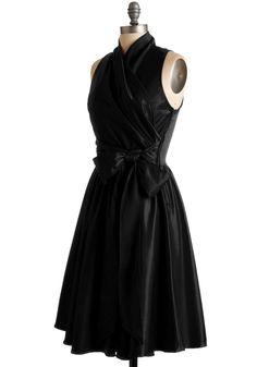 Awards Show Stunner Dress in Black