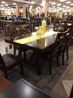 Standard Omaha Dining Set At Nebraska Furniture Mart