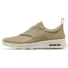 Nike Air Max Thea Premium Women's ($125) ❤ liked on Polyvore featuring shoes, athletic shoes, light weight shoes, leather athletic shoes, low top, leather footwear and traction shoes
