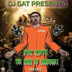 VYBZ KARTEL THE KING OF DANCEHALL MIX SEPTEMBER 2017 RAW VERSION By DJ GAT