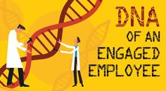 [Infographic] DNA of an Engaged Employee (by ceridian.com) Employee Motivation, Employee Morale, How To Motivate Employees, Focus Group, Employee Appreciation, Employee Engagement, Dna, Workplace, Infographic