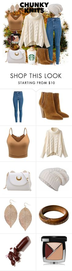 """Pumpkin Spice & Everything Nice 🍁🍊"" by andrea-hiebert ❤ liked on Polyvore featuring H&M, Michael Kors, STINNE GORELL, Humble Chic, LAQA & Co., Chanel and autumnstyle"