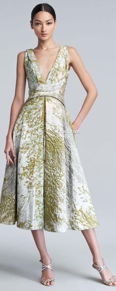 J. Mendel. Knee length formal gown