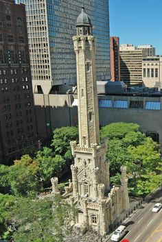 The Chicago Water Tower