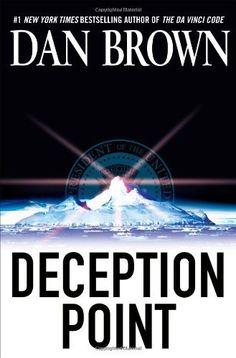 Deception Point by Dan Brown, http://www.amazon.com/dp/0743497465/ref=cm_sw_r_pi_dp_x7BDpb1DZ3E1R