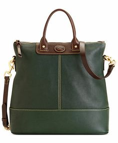 Dooney & Bourke Handbag, Calf Convertible Shopper