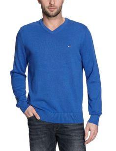 Tommy Hilfiger Men's Pacific V-Neck Jumper S Venice Blue ... https://www.amazon.co.uk/dp/B005HVCN6G/ref=cm_sw_r_pi_dp_x_o0q1ybHHE8RPV