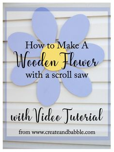 How To Make a Wooden