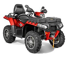 2013 Polaris Quad Sportsman Touring 850 HO EPS Sunset Red LE : Overview