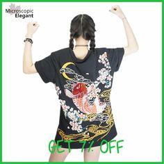 punk funk rock t-shirt harajuku 2017 Japan YOKOSUKA embroidery dragon and koi baseball uniform unisex fashion vintage shirt