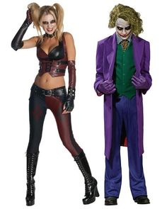 Halloween couple adult