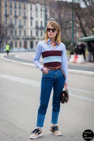 STYLE DU MONDE / Milan Fashion Week FW 2015 Street Style: Annabel Rosendahl  // #Fashion, #FashionBlog, #FashionBlogger, #Ootd, #OutfitOfTheDay, #StreetStyle, #Style