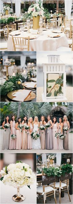 Featured Photographer: Still55 Photography; Chic outdoor beach wedding reception details