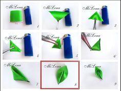 kanzashi flower tutorial - Pesquisa Google