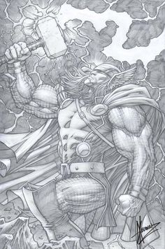 Thor by Dale Keown *