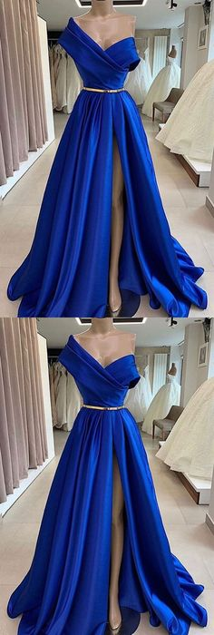 Royal Blue Gown, Royal Blue Prom Dresses, Blue Ball Gowns, Blue Evening Dresses, Prom Dresses Blue, Formal Dresses, Elegant Dresses, Beautiful Dresses, Blue Floor