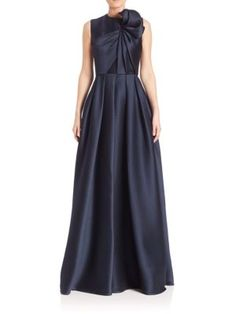 JASON WU Sleeveless Silk Gown. #jasonwu #cloth #gown