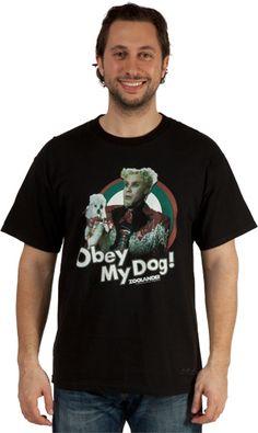 Obey My Dog Mugatu Shirt