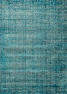 Tapis Voyage / 200 x 300 cm - Tissé main 200 x 300 cm / Turquoise - Toulemonde Bochart