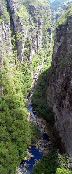 Canyon of Chapada Diamantina, Brazil