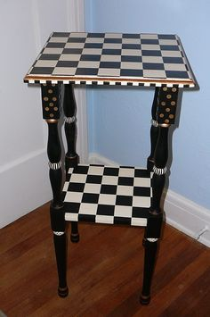 Vintage Broyhill Commode End Table My finished projects Pinterest
