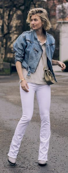 White Jeans Streetstyle