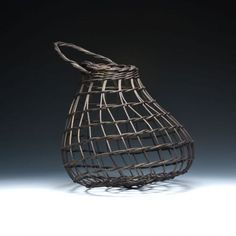 Black Onion Basket by JustaBunchofBaskets