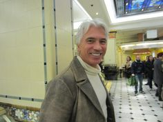 Dmitri Hvorostovsky in Harrods food hall, November 2011.