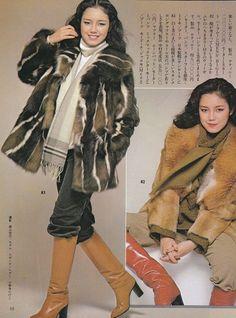 Seventies Fashion, 70s Fashion, Vintage Fashion, Womens Fashion, Fashion Trends, 1970s Clothing, Vintage Boots, Winter Beauty, Cool Boots