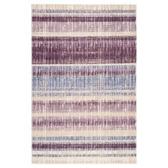Add a touch of inviting warmth and softness to your room's look with a Safavieh, Tinsley Rug. This gorgeous area rug boasts a distressed finish and a colorful striped pattern for a versatile look that expertly complements your room's contemporary décor. The durable, low-pile construction is soft beneath your feet and super-effective at catching dirt. A must-have on hard-surface floors throughout your home.