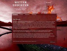 Wetterleuchten - Freilichtspiele Luzern - Regie Volker Hesse design by www.peterulrich.com