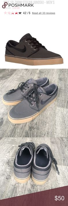 Nike zoom Stefan Janoski canvas. Size 10.5 Brand-new never been worn and Tully's won't let us return the. Really cool canvas shoe. Nike Shoes Sneakers