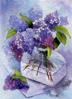 water color floral art prints-- visit fineartamerica com