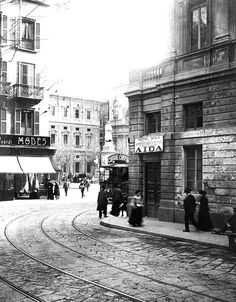 Piazza della Scala, 1905 (by Milan l'era inscì)